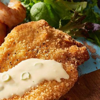 Crumbed chicken breasts for two - order online