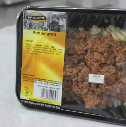 Pasta Bolognese, ready to heat - order online