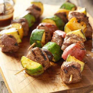 Texans beef kebabs - available to order online