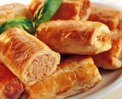 McKees Award winning Sausage rolls, small, medium and large!